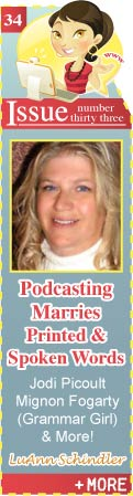 Podcasting Marries Printed and Spoken Words - Jodi Picoult - Mignon Fogarty