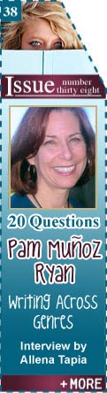 20 Questions Answered by YA Author Pam Munoz Ryan