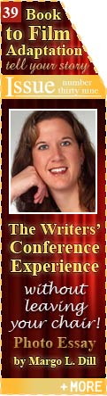 The Writers' Conference Experience - Without Leaving Your Chair! - Photo Essay by Margo L. Dill
