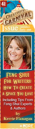 Feng Shui For Writers: How To Create A Space You Love - Including Tips From Feng Shui Experts and Authors - by Kerrie Flanagan
