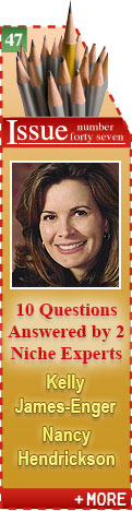 10 Questions Answered by 2 Niche Writing Experts: Kelly James-Enger and Nancy Hendrickson