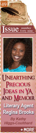 Unearthing Precious Ideas: Literary Agent Regina Brooks