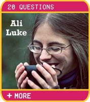 Twenty Questions answered by Ali Luke - Author, Blogger, Writing Coach
