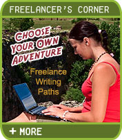 Freelancer's Corner - Choose Your Own Adventure - Freelance Writing Paths