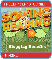 Sowing and Reaping the Ten Benefits of Blogging
