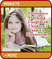 Publishers Seeking Unagented Children's and YA Manuscripts