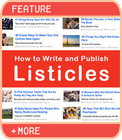 How to Write and Publish Listicles