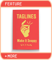 Your Book's Tagline: Make It Snappy