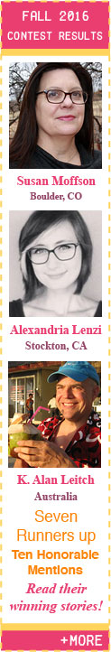Fall 2016 Flash Fiction Contest Winners
