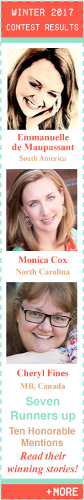 Winter 2017 Flash Fiction Contest Winners