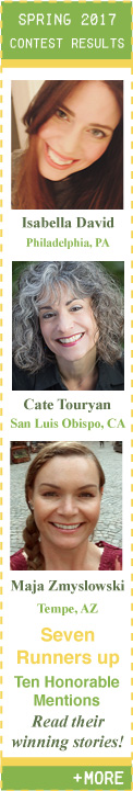 Spring 2017 Flash Fiction Contest Winners!