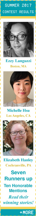 Summer 2017 Flash Fiction Contest Winners!