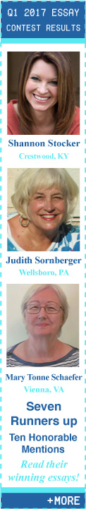Q1 2017 Creative Nonfiction Essay Contest