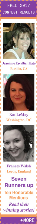 Fall 2017 Flash Fiction Contest Winners