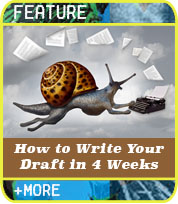 Snail to Sprint: How to Write Your First Draft in 4 Weeks