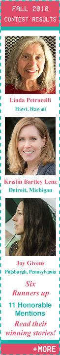Fall 2018 Flash Fiction Contest