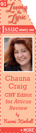Lyric Essays and the Power of Language to Transform: An Interview with Chauna Craig