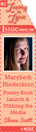 Poetry Book Launch and Utilizing the Media with Marybeth Niederkorn