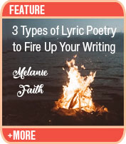 Three Types of Lyric Poetry to Fire Up Your Writing Practice