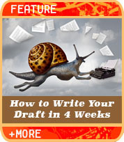 Write Your First Draft in 4 Weeks