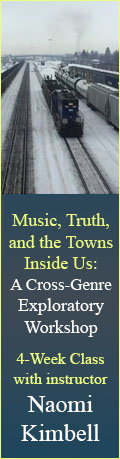 Music, Truth, and the Towns Inside Us - 4 week class with Naomi Kimbell