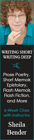 Writing Short, Writing Deep - 6 week writing workshop with Sheila Bender