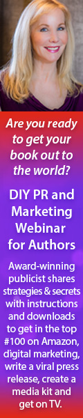 DIY PR and Marketing Webinar for Authors with award winning publicist Diane Dennis